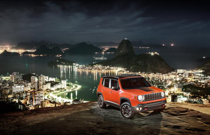 2016 Jeep Renegae Earns Car of the Year in Brazil