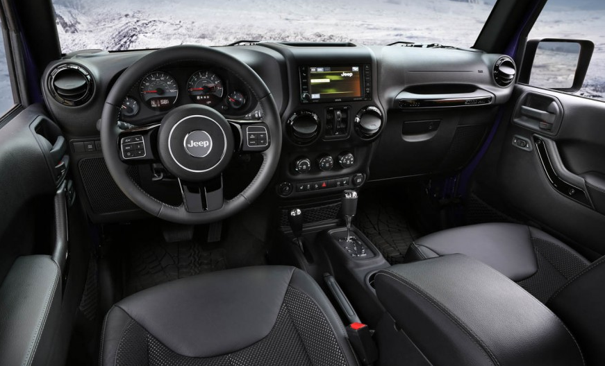 2016 Jeep Wrangler Backcountry Dashboard | The News Wheel