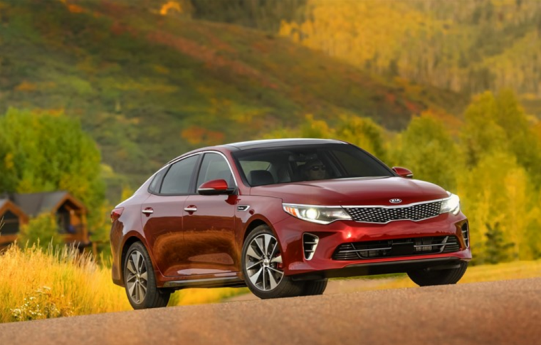 2016 Kia Optima Headlights