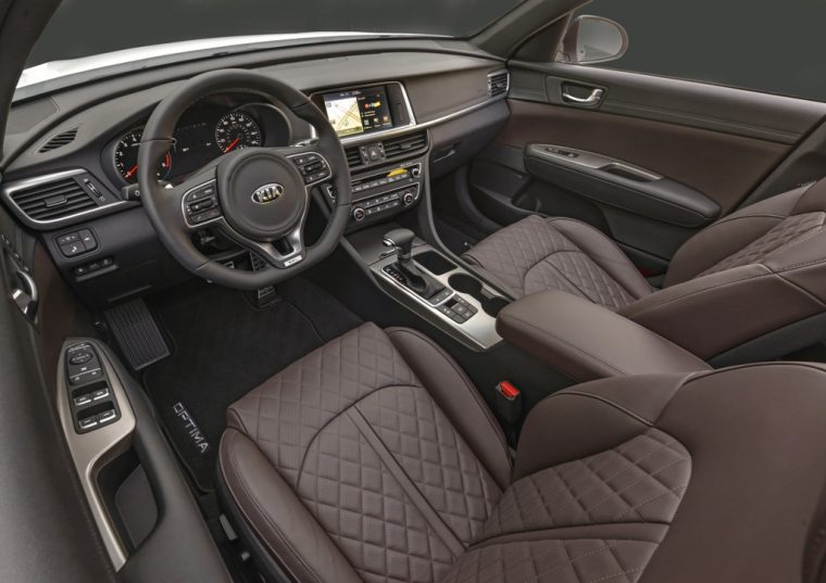 2016 Kia Optima SX Limited Interior