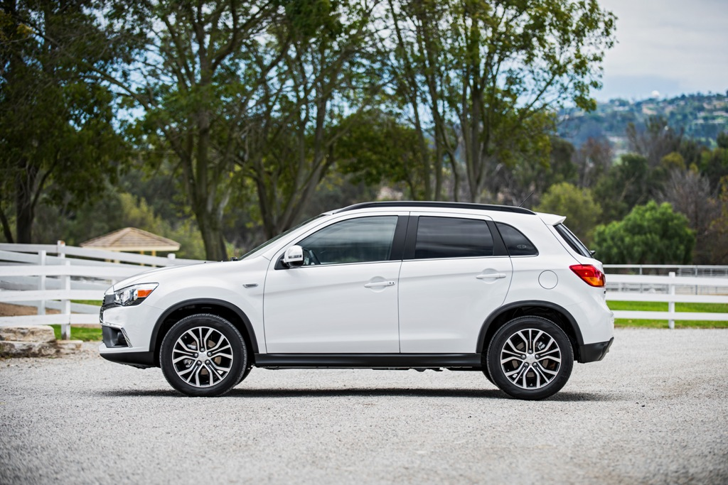 2016 Mitsubishi Outlander Silhouette | The News Wheel