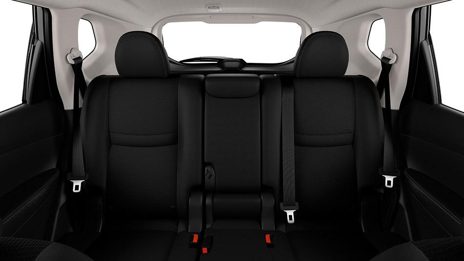 2016 Nissan Rogue Interior Rear   The News Wheel