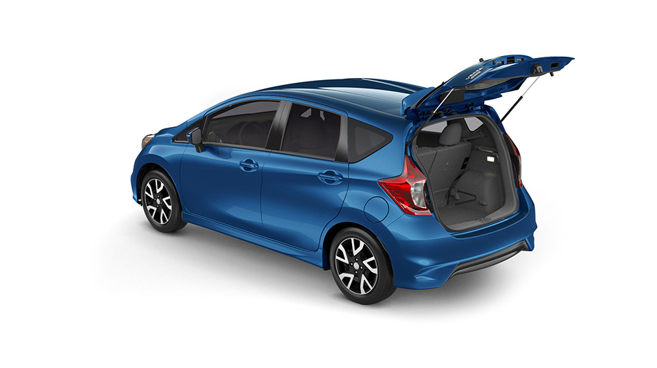 2016 nissan versa note trunk open the news wheel. Black Bedroom Furniture Sets. Home Design Ideas