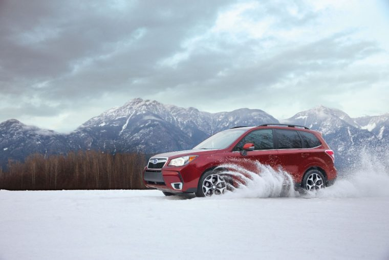 2016 Subaru Forester - Subaru Symmetrical All-Wheel Drive