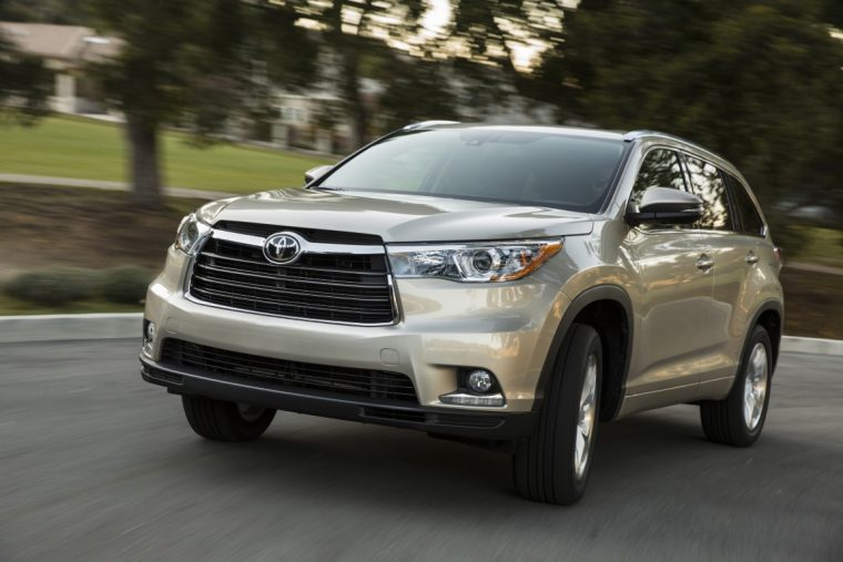 2016 Toyota Highlander overview