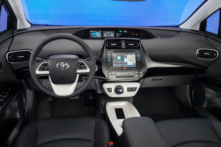 2016 Toyota Prius Four Touring interior 59 mpg combined rating