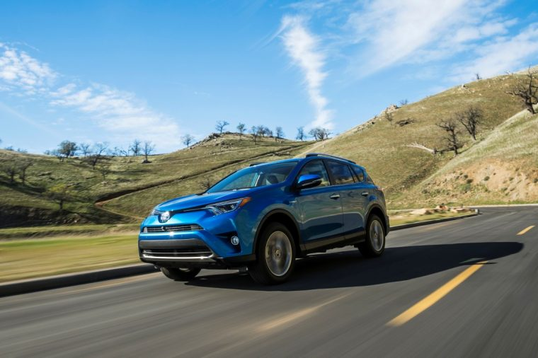 2016 Toyota RAV4 Hybrid January Sales