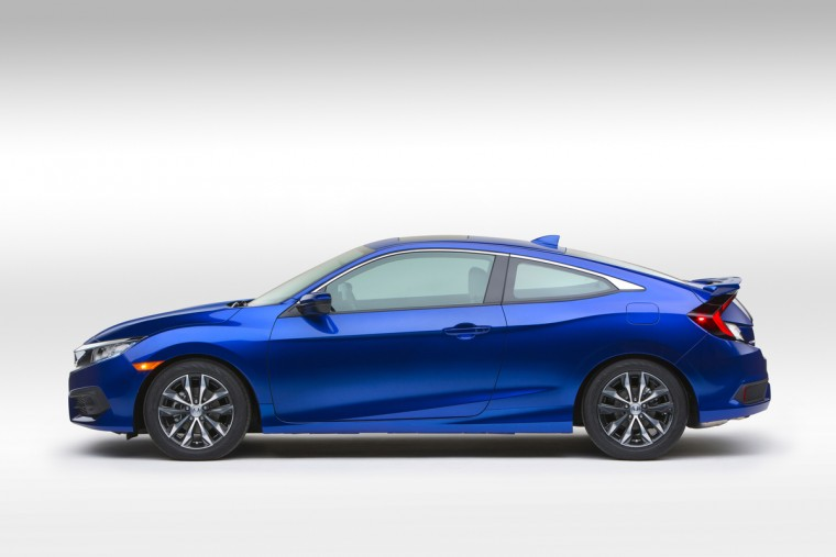 2016 Honda Civic Coupe side