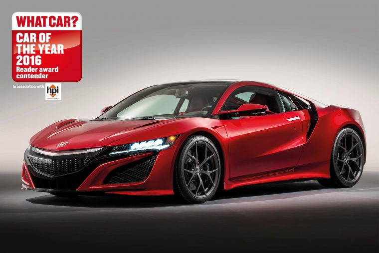 NSX shortlisted for 2016 What Car? Reader Award