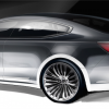 2017 Kia Cadenza Rear End Teaser Image
