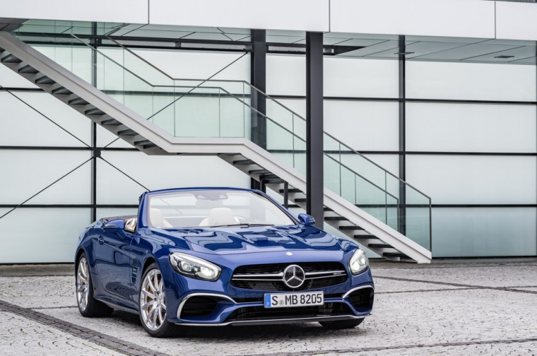 Introducing the new 2017 Mercedes-Benz SL-Class (AMG SL65 shown)