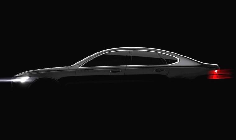 2017 Volvo S90 Teaser