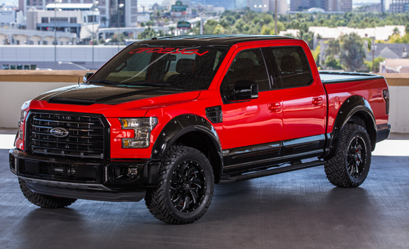 2015 SEMA Show Ford F-150 AIRDESIGN USA Ford F-150