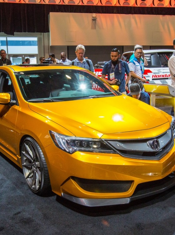 Acura Brings 2016 Acura ILX By Galpin Auto Sports To SEMA