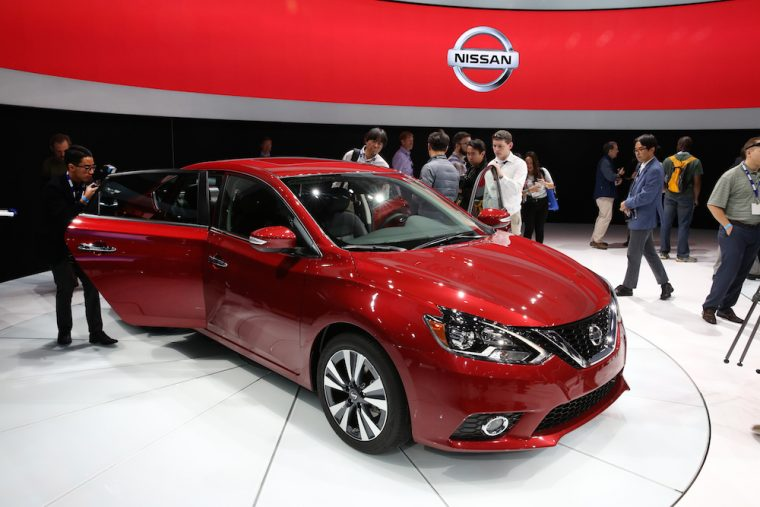 2016 Nissan Sentra at the LA Auto Show
