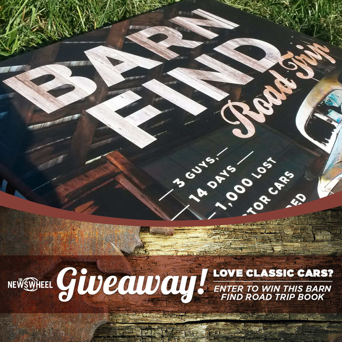 barn find book giveaway