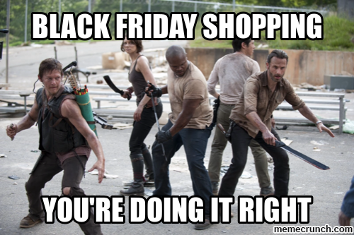 Black Friday Walking Dead Meme