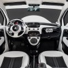 The interior of this Fiat 500e was designed based on a Star Wars Stormtrooper