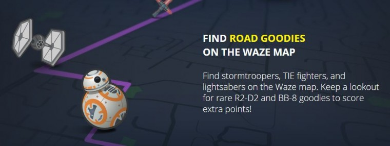 Game Star Wars Waze