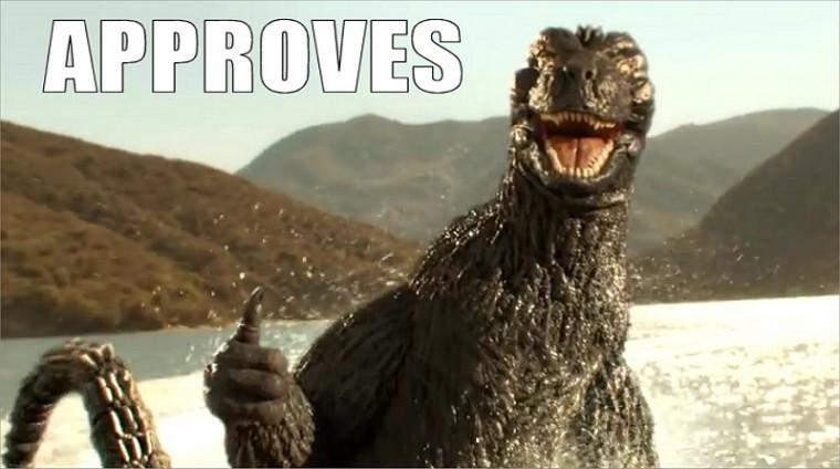 Godzilla Approves Meme