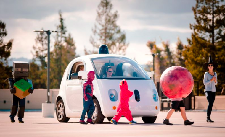 google self-driving car driverless car insurance