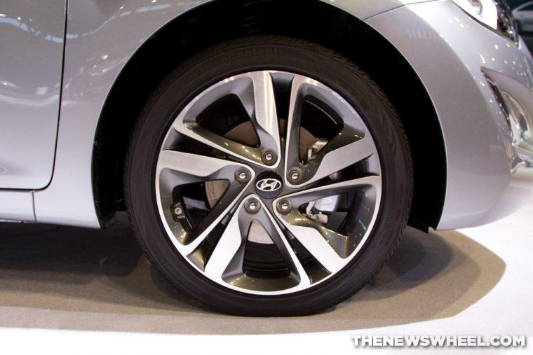 Hyundai wheel tire self-driving car