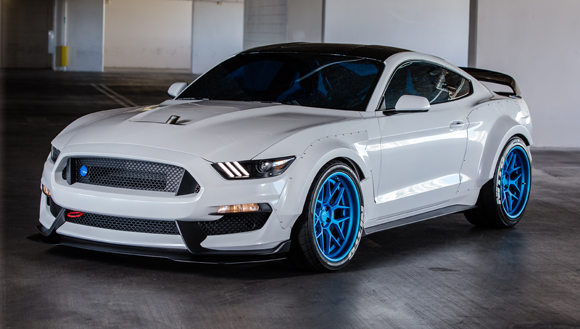 2015 SEMA Show Ford Ice Nine Group GT350R