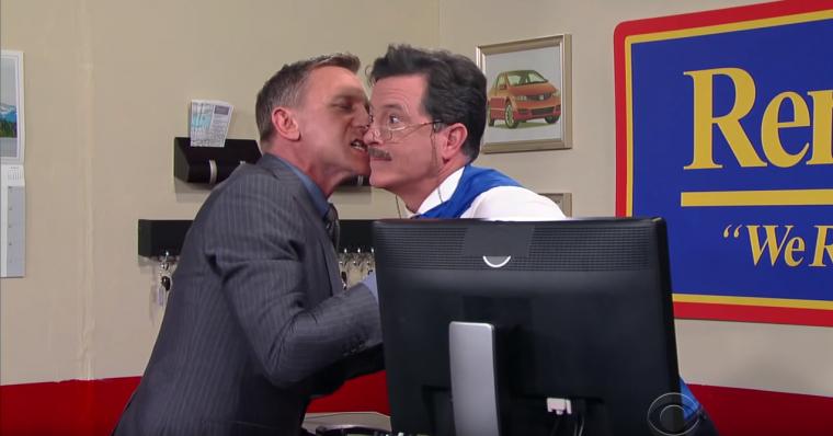 James Bond Stephen Colbert 2