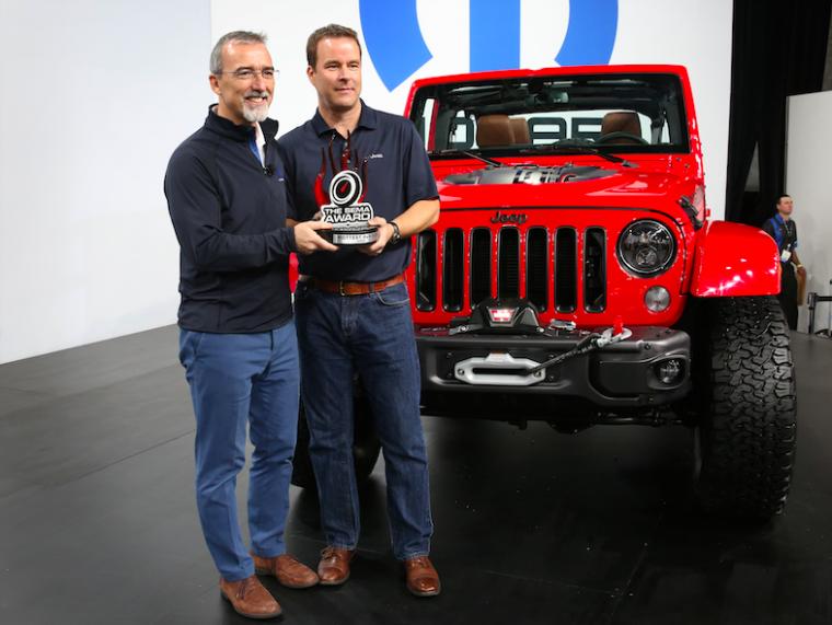 Jeep Wrangler SEMA Hottest 4x4 SUV Award