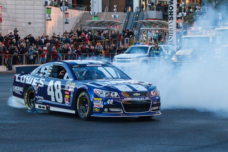 Jimmie Johnson picked up his firth win of the season Sunday at Texas