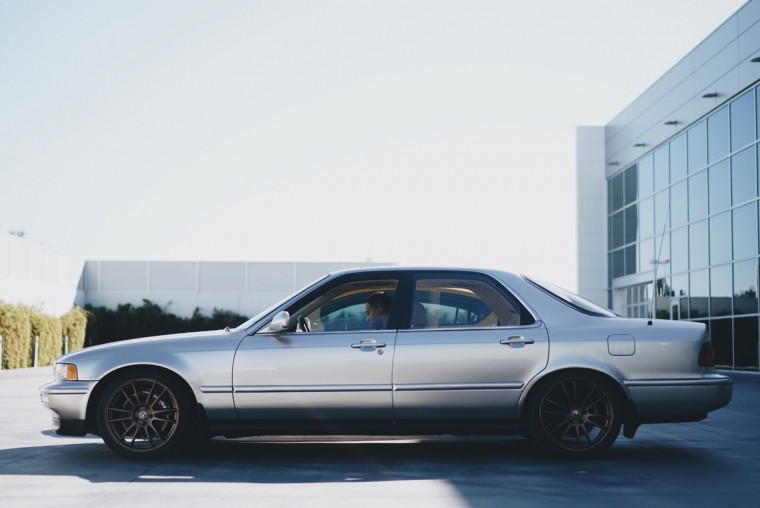 Ludacris 1993 Acura Legend at SEMA 2015