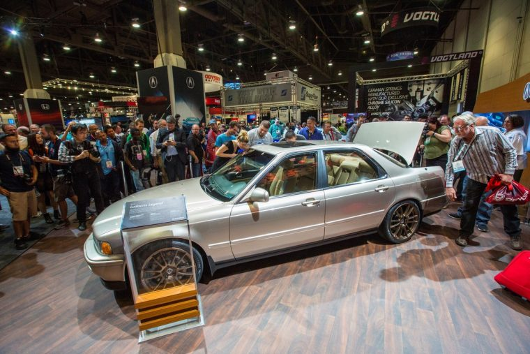 Acura at the 2015 SEMA Show