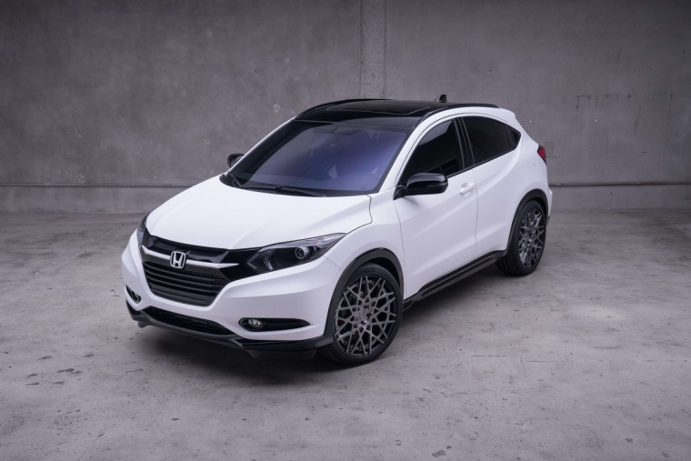 2016 Honda HR-V customized by MAD Industries