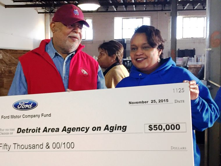 Ford donates $50,000 to DAAA