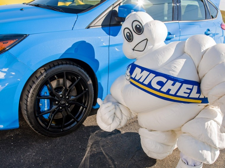 Michelin Man and Ford Focus RS