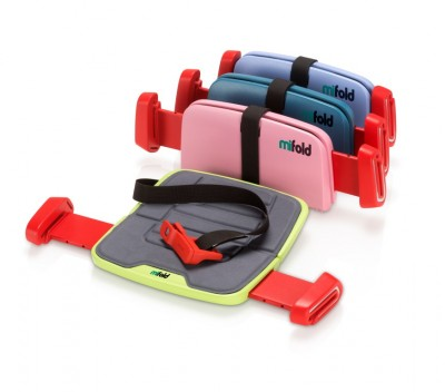 mifold foldable booster car seat