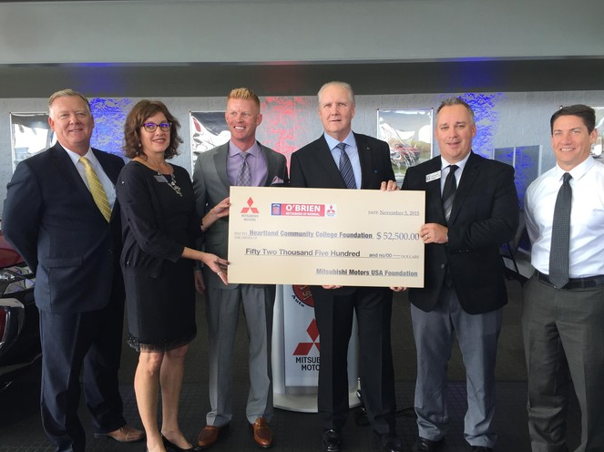 Mitsubishi motors usa foundation creates scholarship fund for Mitsubishi motors bloomington il
