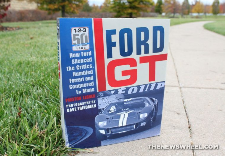 Motorbooks Ford GT book review by Lerner cover