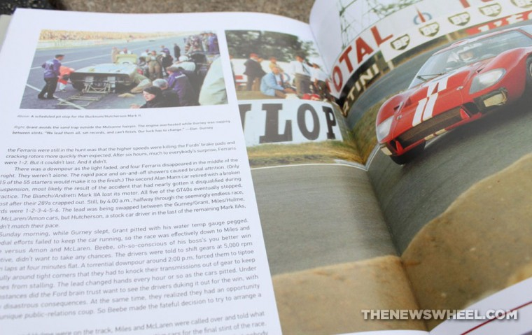Motorbooks Ford GT book review by Lerner page spread