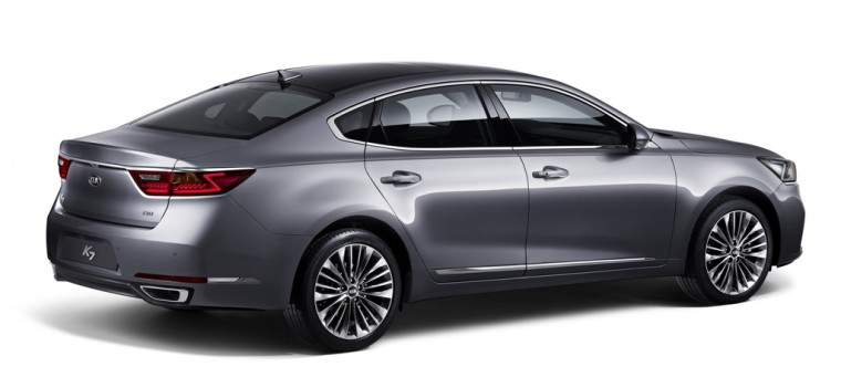 Next-Generation Kia Cadenza Rear End