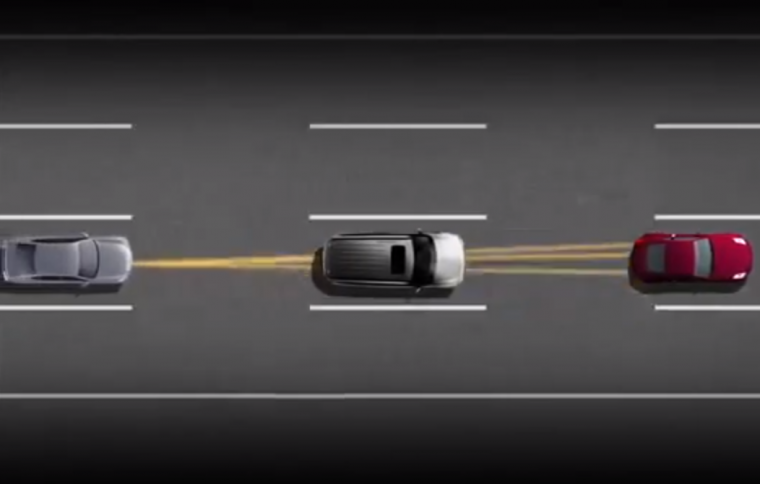 Nissan Predictive Forward Collision Warning System