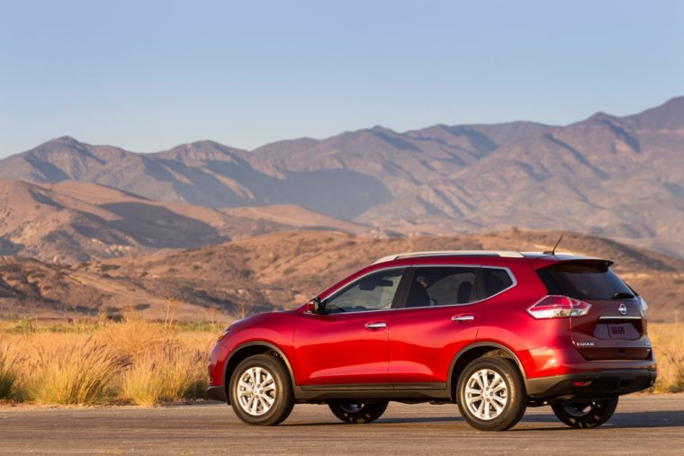 Nissan Rogue Mountain View