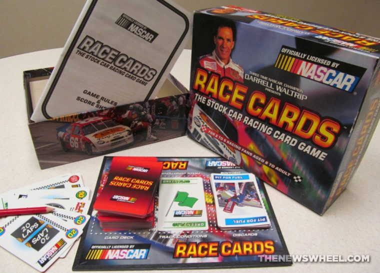 Official NASCAR Darrell Waltrip Presents Race Cards Stock Car Racing Card Game review