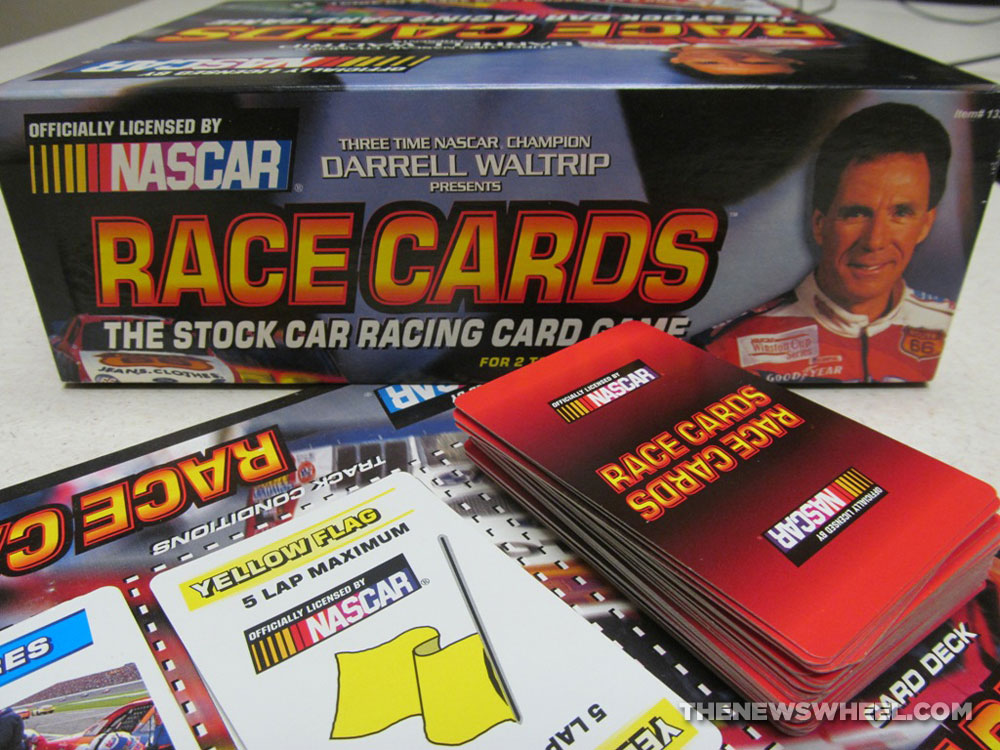 French Car Race Card Game