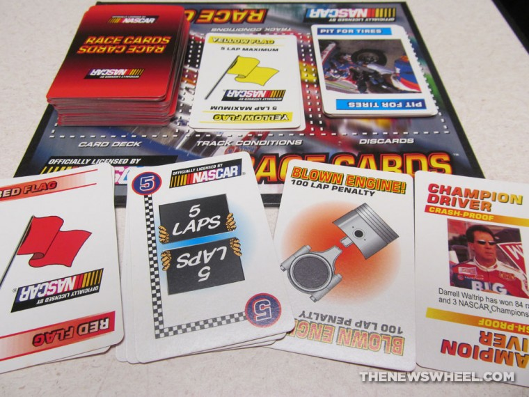 Official NASCAR Darrell Waltrip Presents Race Cards Stock Car Racing Card Game review gameplay
