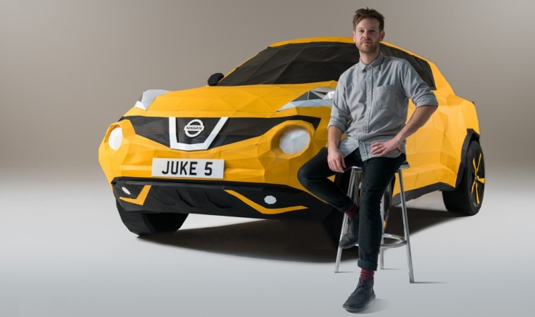 Nissan Juke: Folded in Britain