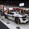 A 887 horsepower Porsche 918 Spyder has been added to the police fleet in Dubai