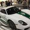Police in Debai have turned a Porsche 918 Spyder into a police car
