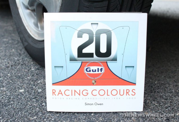 Racing Colours Simon Owen book review motor car liveries cover