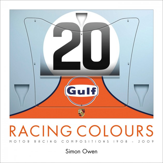 Racing Colours book cover Simon Owen